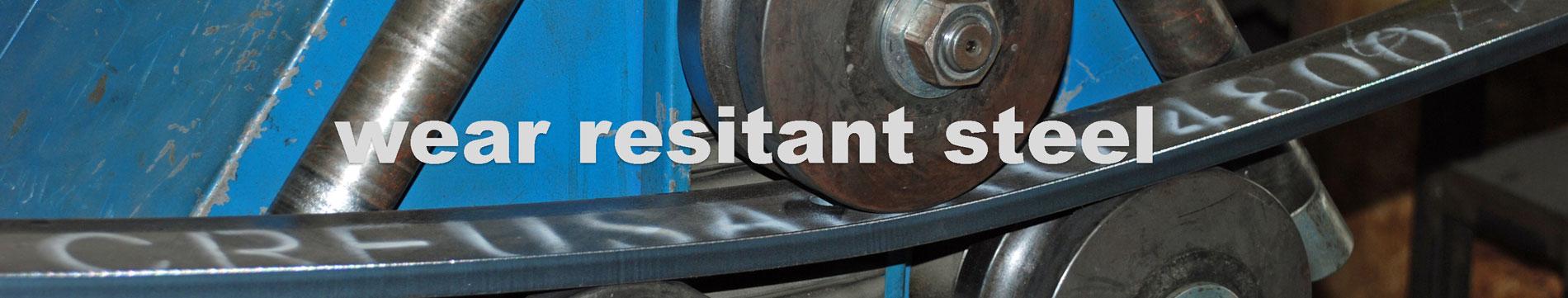 wear resistant steel