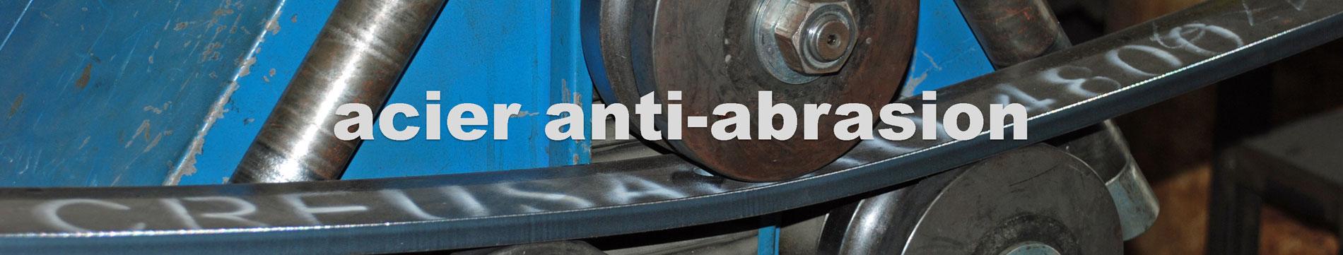 acier anti abrasion